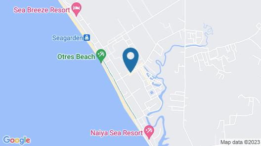 Twin Palms Resort Map