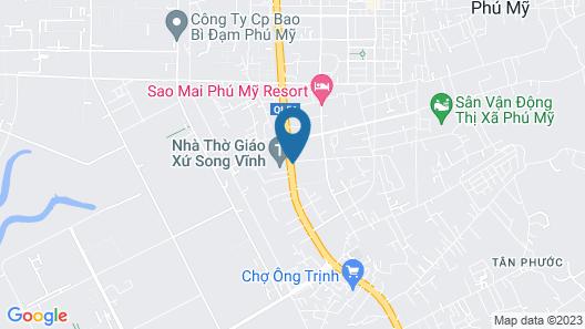 Phu My Gold Coffee & Resort Map