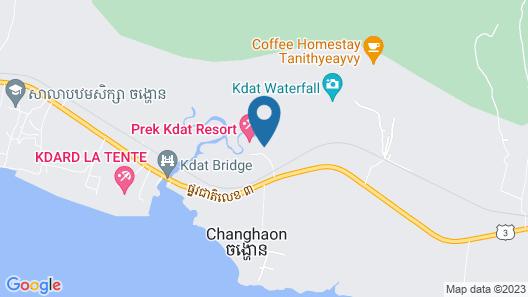 Prek Kdat Resort Map