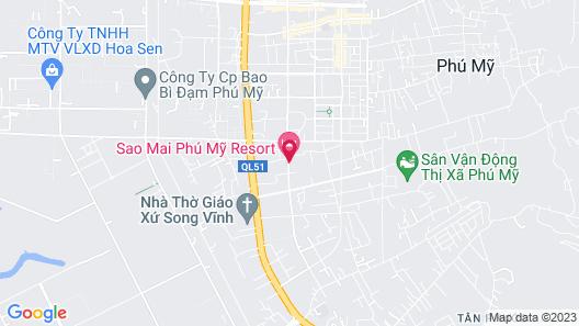 Sao Mai Resort Map