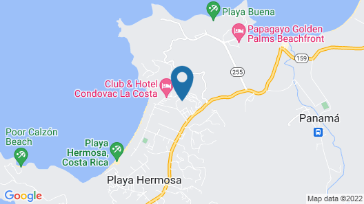Villas Sol Hotel And Beach Resort - All Inclusive Map