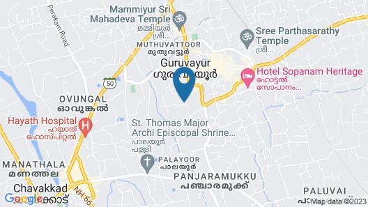 KTDC Tamarind Guruvayoor Map