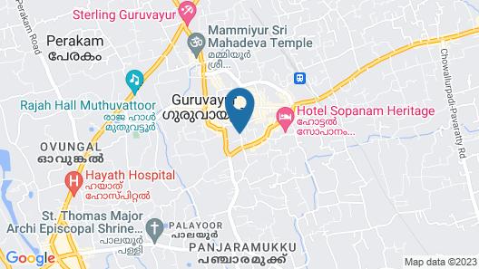 Hotel Horizon International Map