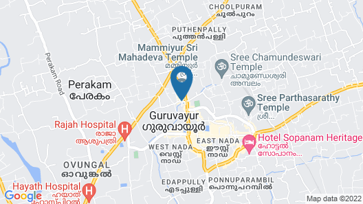 STERLING GURUVAYUR  Map