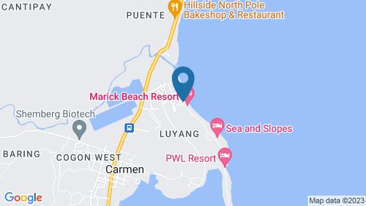 Marick Beach Resort Map