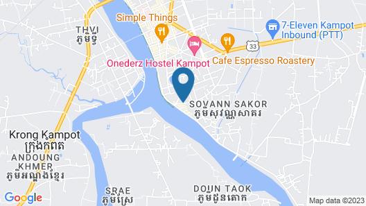 Mad Monkey Kampot Hostel - Adults Only Map