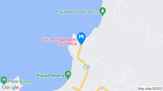 Secrets Papagayo Costa Rica - Adults only Map