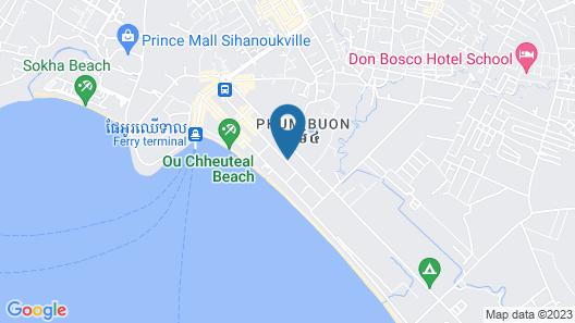 Grand Sihanoukville Hotel Map