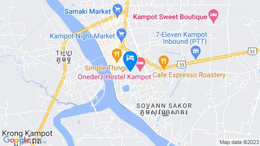 Marany Guesthouse Map