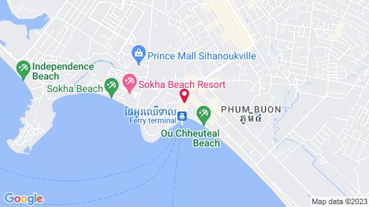 Holiday Villa Nataya Sihanoukville Map