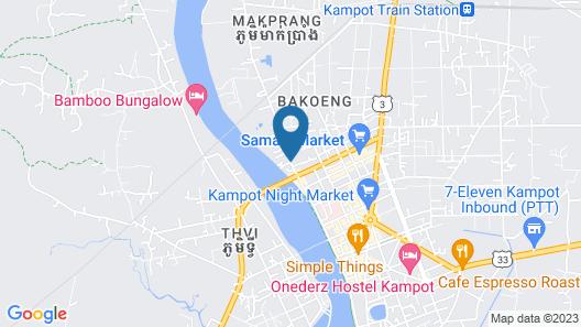 Natural Bungalows Restaurant and Bar Map