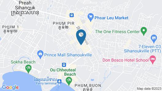 Hao Cheng Hotel Map