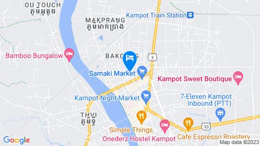 Sokhom Bungalow Map