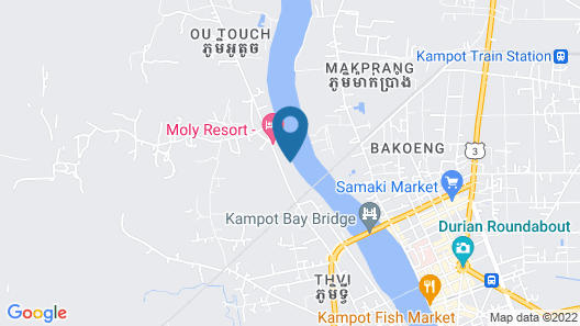 Bamboo Bungalow Map