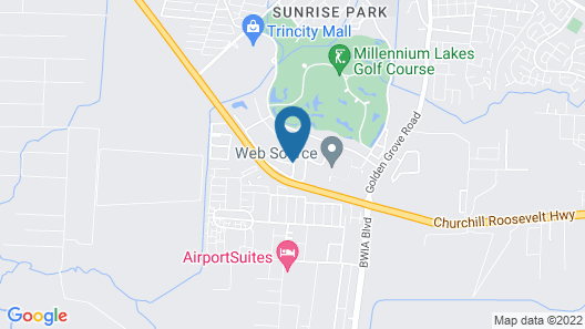 Holiday Inn Express Hotel & Suites Trincity Trinidad Airport Map