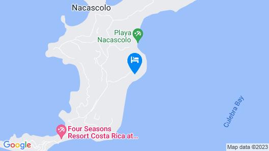 Beautiful 4 Bedroom Home in Peninsula Papagayo Map