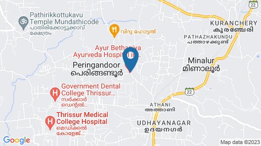 Ayur Bethaniya Ayurveda Hospital Map