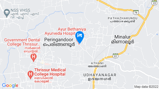 Ayur Bethaniya Ayurveda Hospital Map