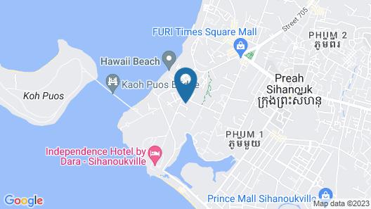 Goddess of Liberty Hotel Map