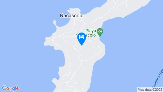 Monkey Villa - Peninsula Papagayo Map