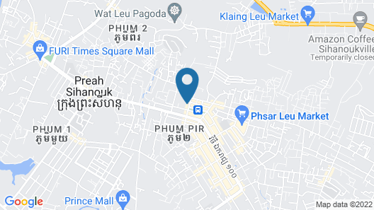 AQUA family Resort Map