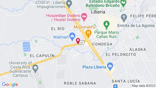 Best Western El Sitio Hotel & Casino Map