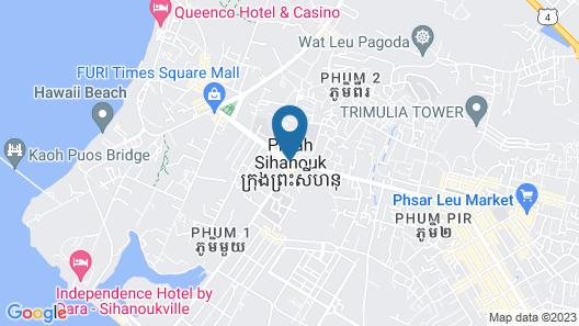 baiweibanshan hotel Map