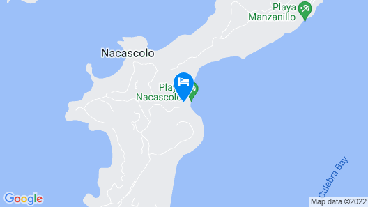 Perfect Costa Rica Holiday Vacation Apartment Map
