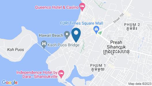 Domrai Boutique Resort Map