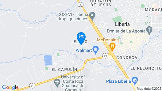 Hotel del Rio Map