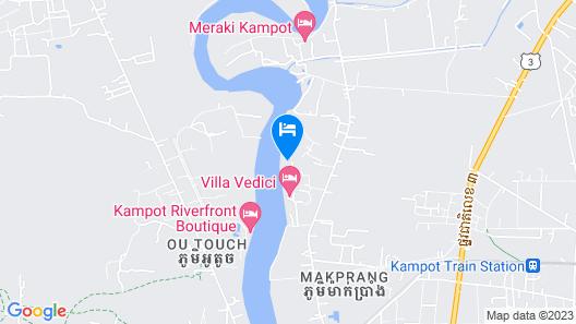 Kampot River Residence Map