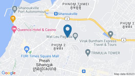 Pagoda Rocks Boutique Resort Map