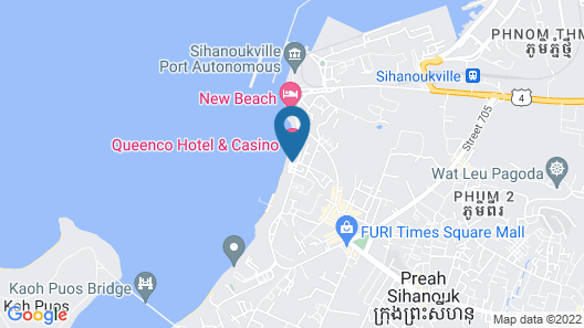 Queenco Hotel & Casino Map