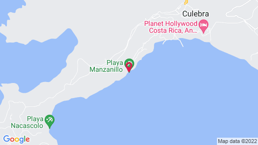 Planet Hollywood Beach Resort Costa Rica - All Inclusive Map