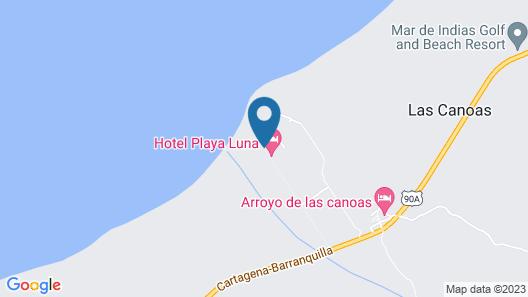 Chalet Casa La Siesta Map