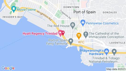 Hyatt Regency Trinidad Map