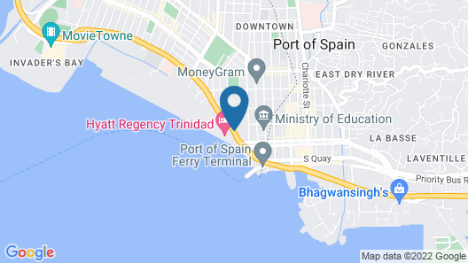 Hyatt Regency Trinidad Map
