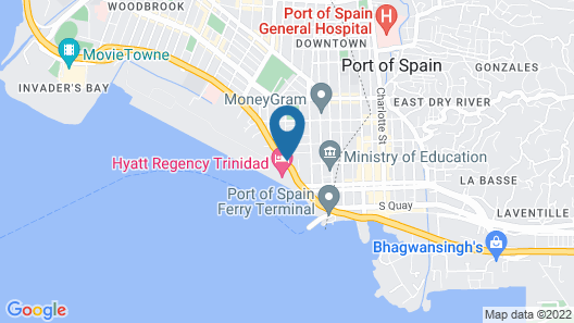 Radisson Hotel Trinidad Map