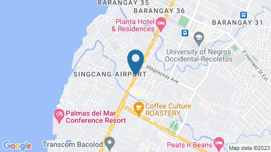 Sugarland Hotel Map