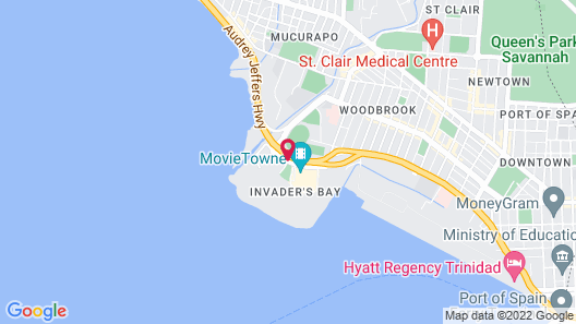 Courtyard by Marriott Port Of Spain Map
