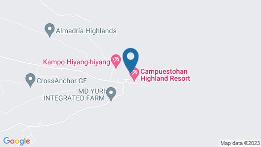 Campuestohan Highland Resort Map