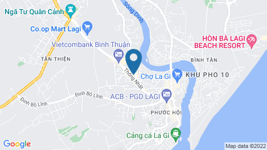 Hotel Cat Tuong Map