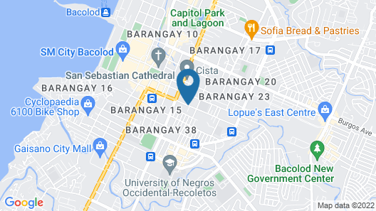 Java Pension House Bacolod Map