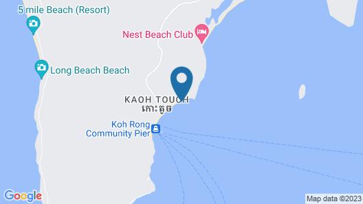 White Beach Bungalows Map