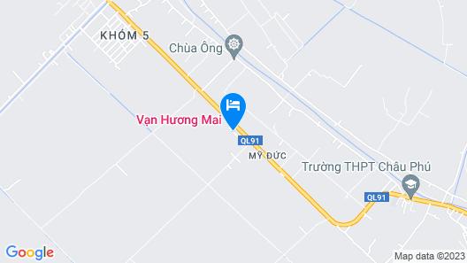 Van Huong Mai Bungalow Map
