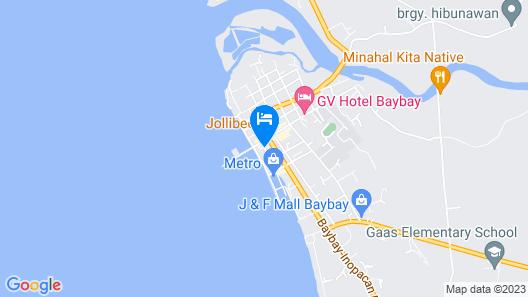 Jeamco Royal Hotel - Baybay Map
