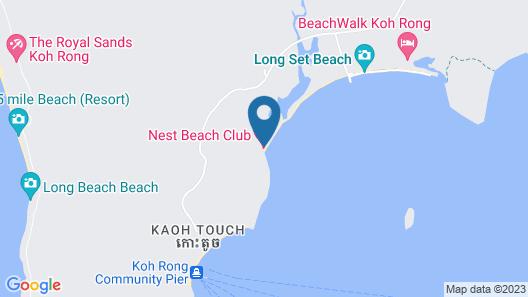 Nest Beach Club - Hostel Map