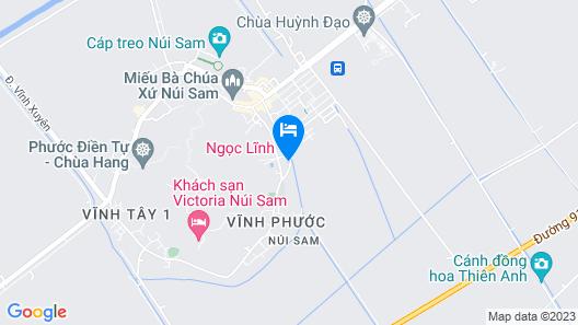 Ngoc Linh Motel Map
