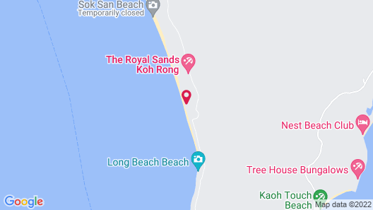 The Royal Sands Koh Rong Map