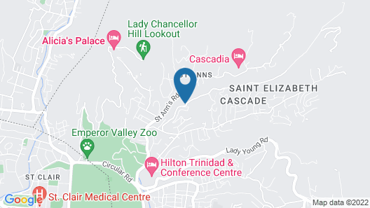 Oasis Petrea Map